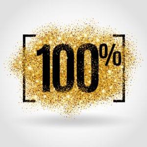 save 100%