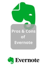 Read more about the article Pros & Cons of Evernote