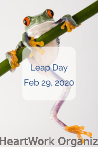 Read more about the article Leap Day–February 29, 2020