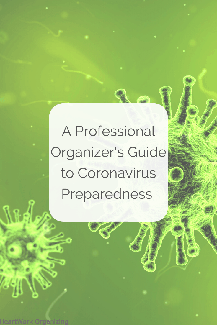 Read more about the article A Professional Organizer's Guide to Coronavirus Preparedness in the US