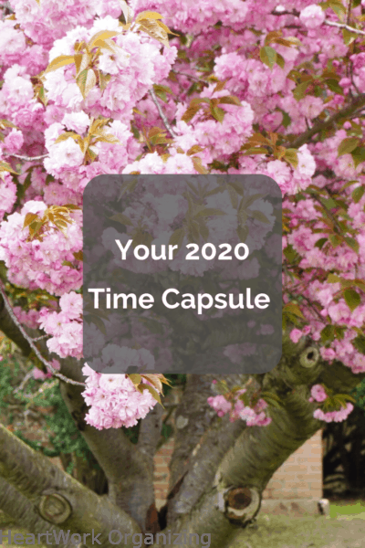 Your 2020 Time Capsule