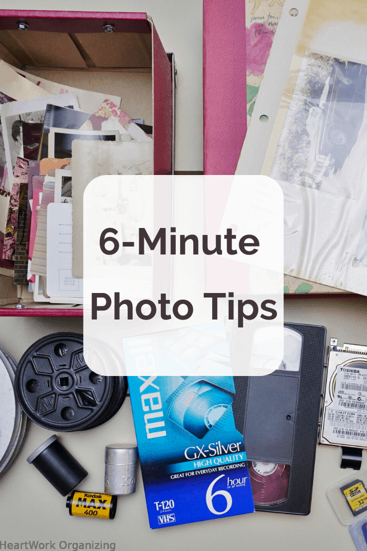 Read more about the article 6 Minute Photo Organizing Tips