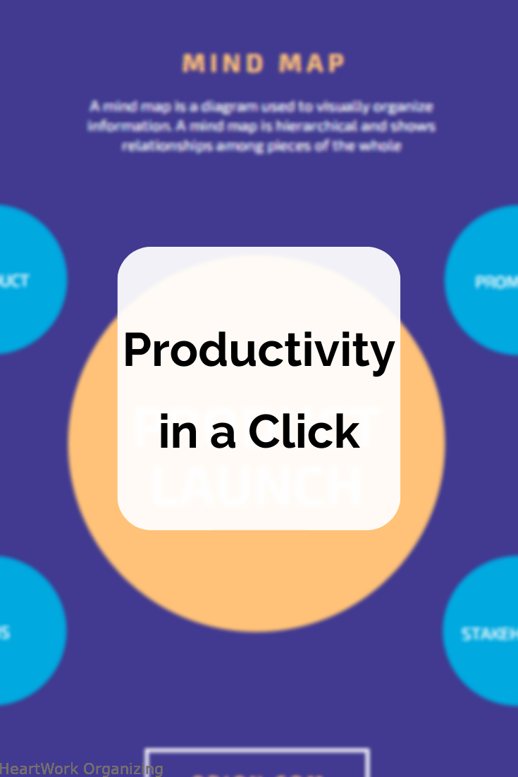 Read more about the article Productivity in a Click: Mind Maps from Canva + 3 Tips