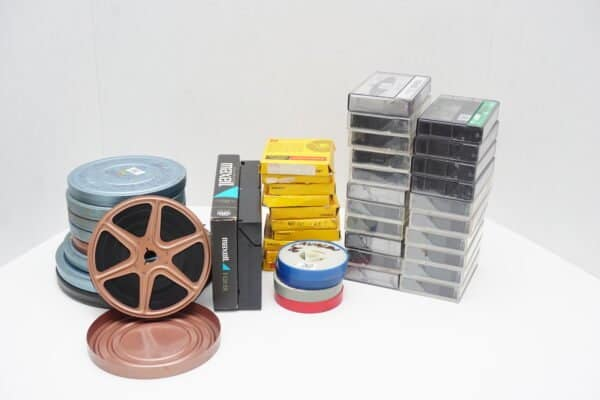 Photo Organizing with photos, video, VHS tapes