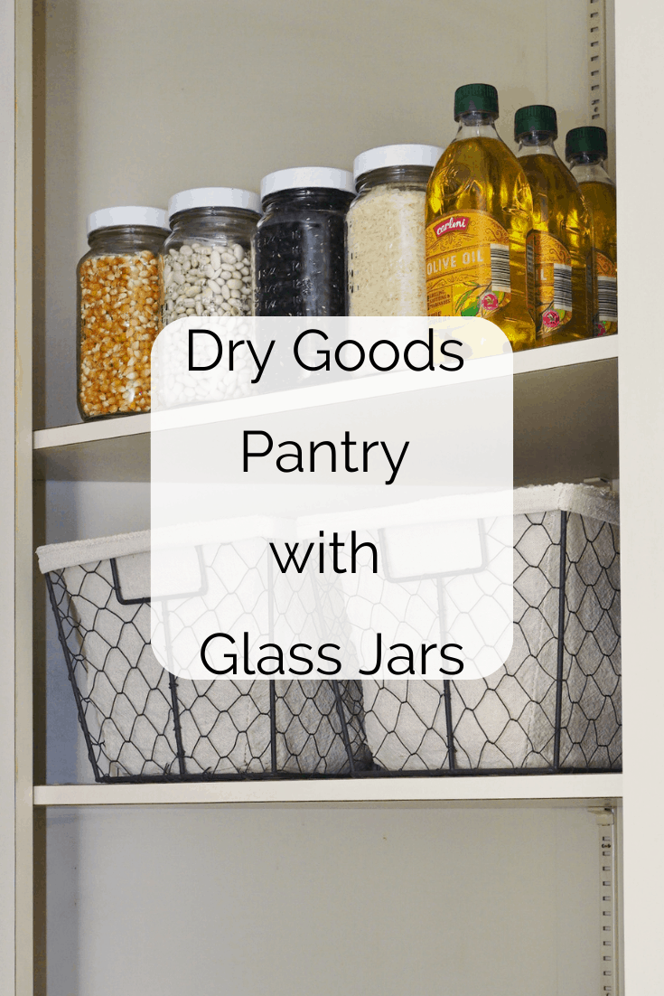 Read more about the article Little Changes, Big Impact (Dry Goods Pantry with Glass Jars)