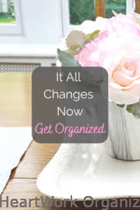 Read more about the article It All Changes Now: Get Organized with HeartWork Organizing