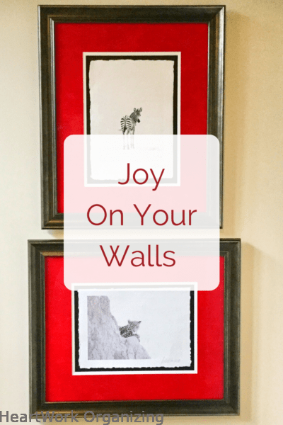 Joy on Your Walls-Photos, Art and Gallery Walls