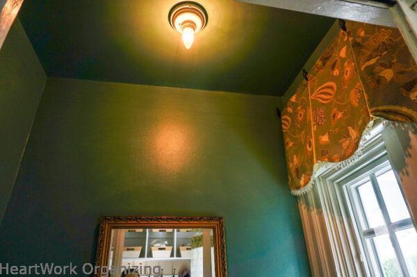 Bathroom lighting update-before