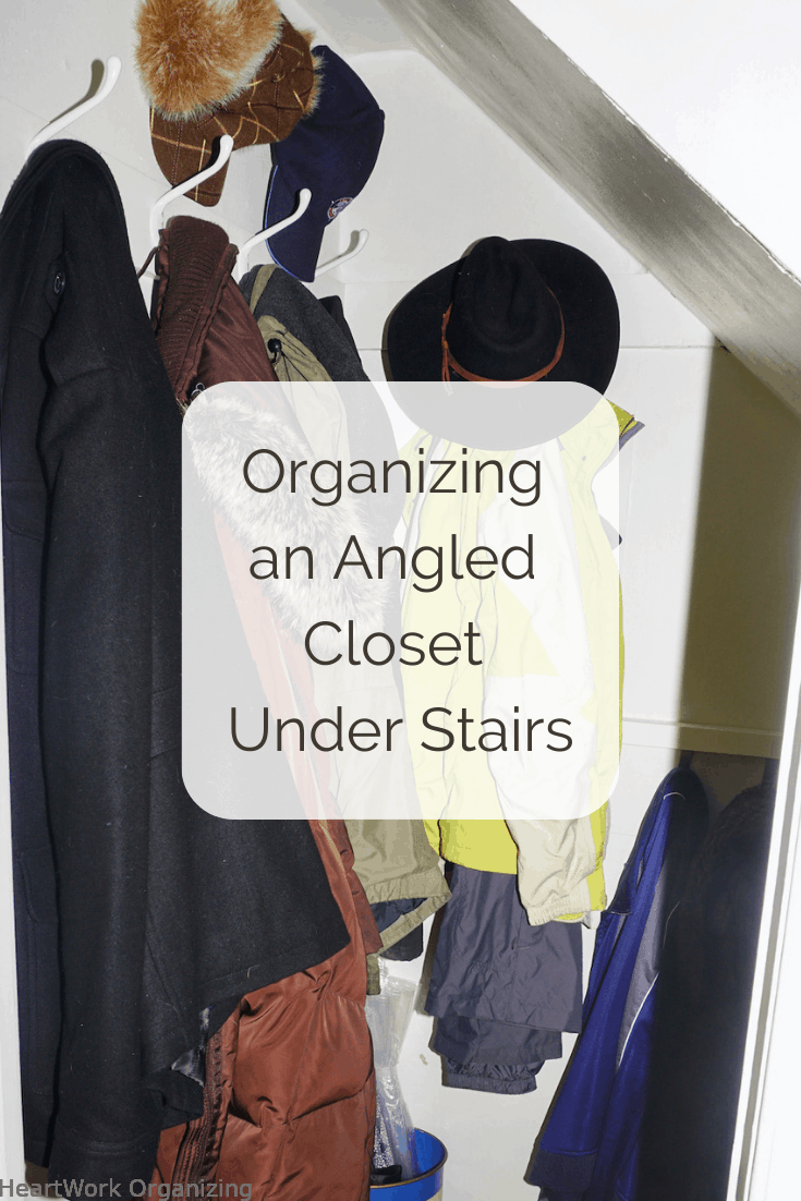 Read more about the article Organizing an Angled Closet Under Stairs (And One Big Tip)