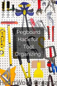 Read more about the article Pegboard Organizing Hack for Tools