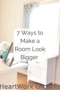 Read more about the article 7 Ways to Make a Room Look Bigger Without Spending Any Money