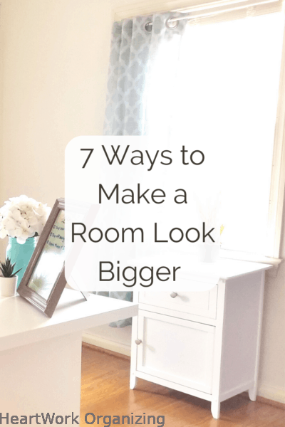 7 Ways to Make a Room Look Bigger