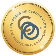 BCPO NAPO certified profession organizer