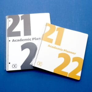 Academic Planners from Order Out of Chaos 2021
