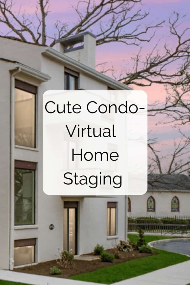 Read more about the article Cute Condo: Virtual Home Staging Sells