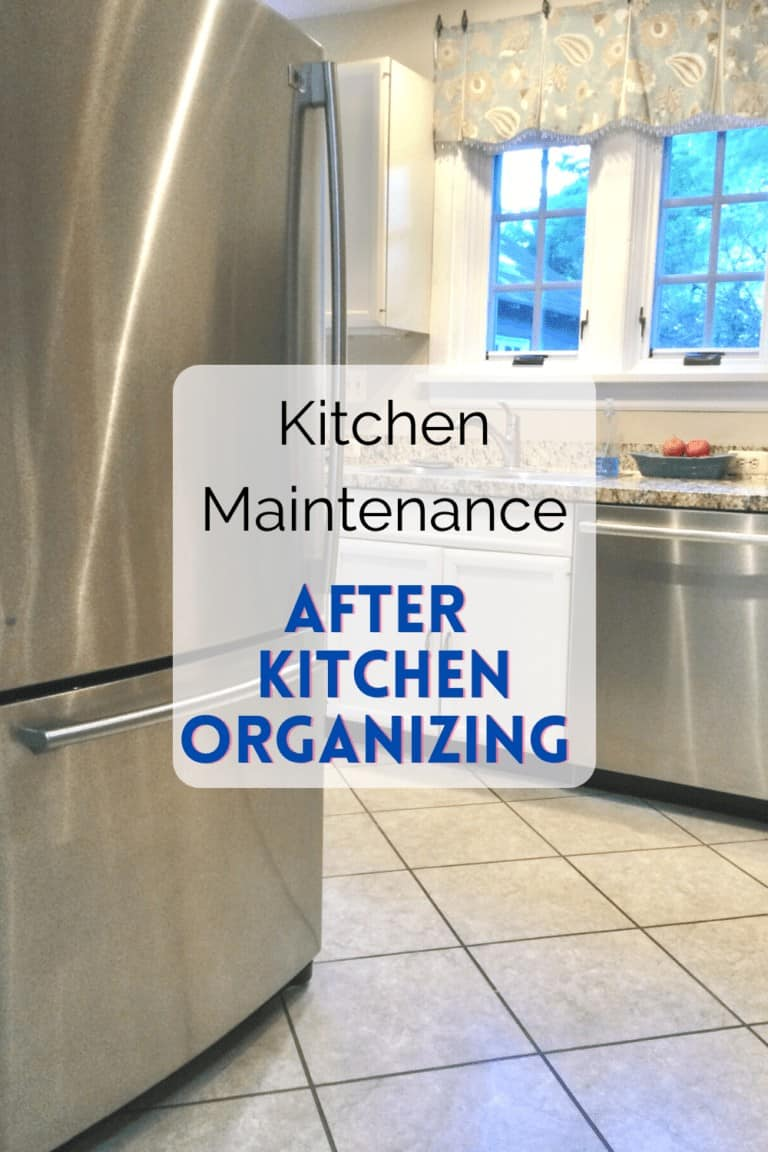 Read more about the article Kitchen Maintenance After Kitchen Organizing Ideas