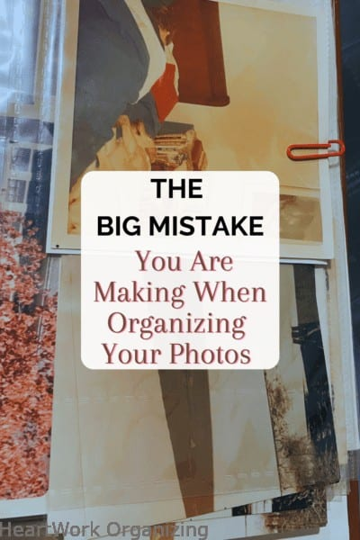 THE Biggest Mistake You Are Making When Organizing Your Photos