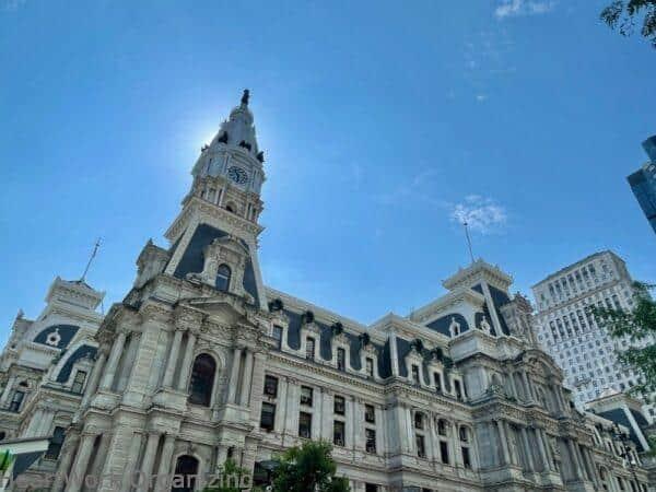 2 nights in Philadelphia, Pennsylvania- City Hall Dilworth Plaza exterior