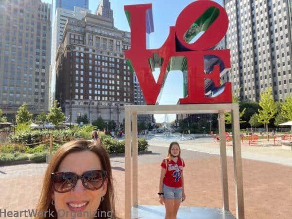2 nights in Philadelphia, Pennsylvania- Love Park