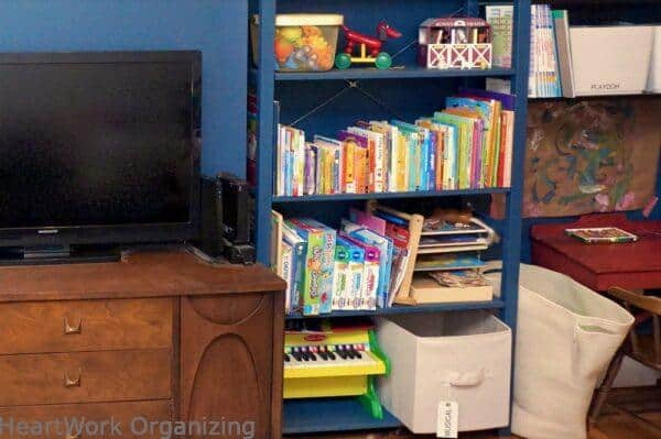 How to Organize a Small Home Without a Closet-toddler toys