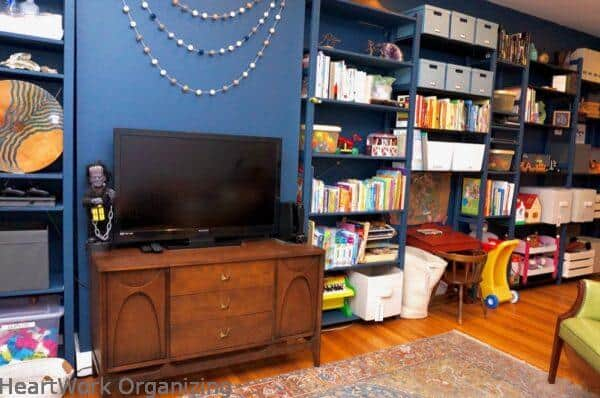 How to Organize a Small Home Without a Closet- after