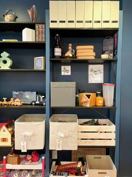 How to Organize a Small Home Without a Closet- dining room storage