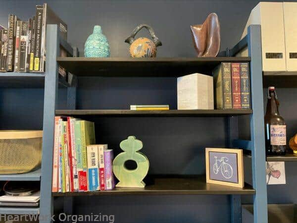 How to Organize a Small Home Without a Closet- display keepsakes