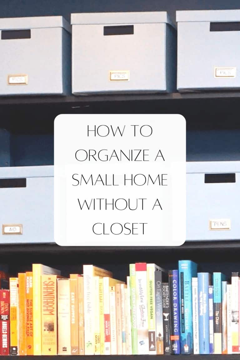Read more about the article How to Organize a Small Home Without a Closet: Ivar Shelving