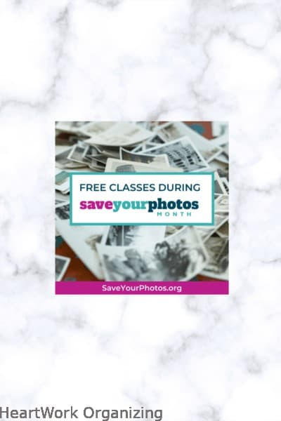Save Your Photos Month