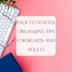 Heading Back: Back to School Tips for Big Kids