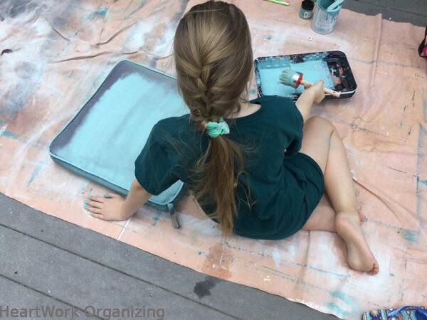 How to Paint Patio Cushions