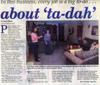 2005 - Courier Post - Article - About Ta-da